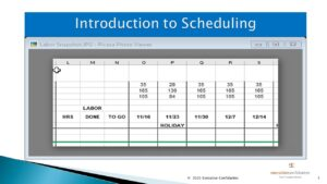 How To Use The Schedule Worksheet cover